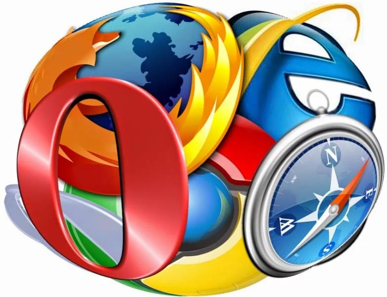 Internet Explorer, Mozilla Firefox, Opera, Google Chrome, Яндекс браузер